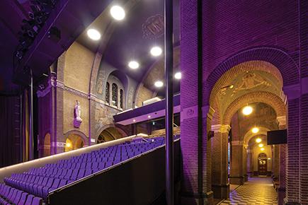 Kerktheater Speelhuis, Helmond door architectenbureau Cepezed b.v. Delft